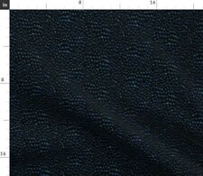 New listing Blue Black Dragon Scales Scale Fantasy Costume Spoonflower Fabric by the Yard