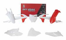 New Plastic Kit KTM SX 85 2018 2019 18 19 Racetech Plastics Orange White