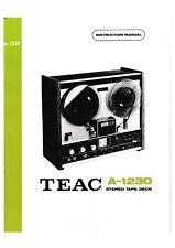Service Schema für Teac A-1230