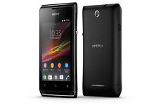 Sony Xperia E C1504 4GB Black (c) + 6 Months Seller Warranty
