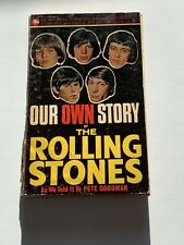 THE ROLLING STONES 1964 - OUR OWN STORY - 1ST EDITION PAPERBACK BOOK RARE MUSIC