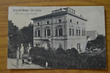 CARTOLINA FORTE DEI MARMI VILLA BARBERI 1931 VIAGGIATA NUMISMATICA SUBALPINA