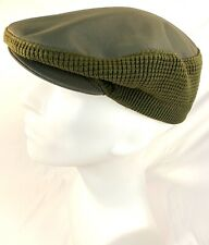 Vintage RARE Gannex Co.  Men's Army Green Cabbie/Cabby Cap Hat Made in Britain