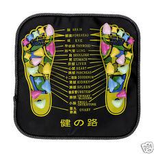 Foot Leg Pain Relieving Reflexology Mat Stone Walk Massager Acupressure Tool