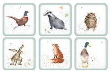 Ensemble de 6 chouette Blaireau lièvre CANARD Pheasant Renard