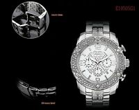 MARC ECKO MEN'S CHRONOGRAPH COLLECTION CRYSTALS WATCH E19505G1