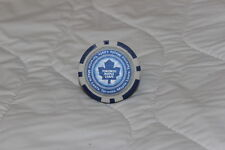 NEW TORONTO MAPLE LEAFS NHL POKER CHIP GOLF BALL MARKER CANADA FREE SHIPPING