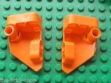 Carenage LEGO Technic Orange Panel Fairing 1 & 2 ref 87080 & 87086/ 9398 66433..