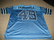 Size L North Carolina Tarheels Game Shirt #49, with short sleves. Colosseum.