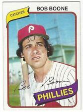 BOB BOONE PICK 3 cards: 1980-82 Topps Donruss NM-MT MLB Philadelphia Phillies