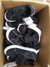 Swiggles Boy's Toddler Black or Blue Hook & Loop Closure Athletic Shoes Nwot E22