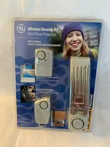 GE Smart Home Wireless Security Kit Dorm Room or Any Room Protection New Sealed