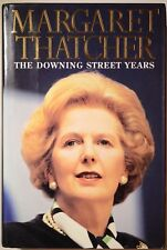 Margaret Thatcher signed autobiography book The Downing Street Years mint condtn