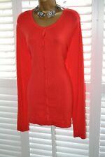 ~ LONG TALL SALLY ~ Red Cardigan Jumper Size L UK 16 - 18 BNWT Dress