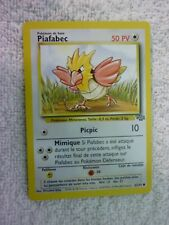Carte pokémon piafabec 62/64 commune jungle wizard