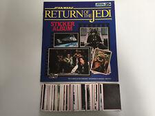 1983 Topps : Star Wars Return of the Jedi Sticker Empty Album & Complete Set