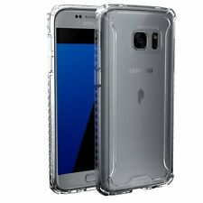 Affinity Premium Thin&Corner Protection Bumper Case for Galaxy S7 Edge Clear