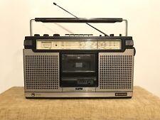 Hitachi Stereo Cassette Recorder Boombox TRK-8015E Made In Japan