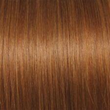 100 Echthaar Extensions in dunklem Kupferblond #16 75 cm 1 Gramm Haare