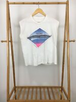 RARE VTG 1984 Wang Chung Points On The Curve Tour Thin Sleeveless T-Shirt Size M