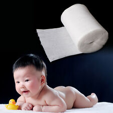 100 Sheet Baby Flushable Biodegradable Cloth Nappy Diaper Bamboo Liners Roll