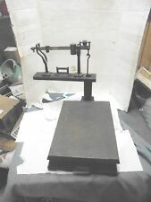 howe 100 pound platform beam counter scale us postal service no counter weights
