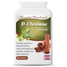 P-Cleanse - Powerful Colon Gastro Intestinal Cleanse Support Formula 90 Capsules