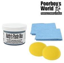 Poorboys World pasta Natty cera carnauba azul Natty's 227ml 2 ropa &