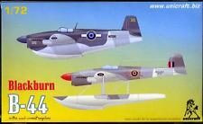 Unicraft Models 1/72 BLACKBURN B-44 British WWII Combat Seaplane Project