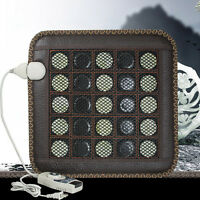 110V/220V Safety Use Health Natural Jade Tourmaline Stones Infrared Heating Mat