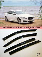 For Jaguar XF Sd 2008-2015, Windows Visors Deflector Sun Rain Guard