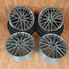 4 x Felgen BORBET BS5 Metal Grey 7,5x17 Zoll 5x112 ET50
