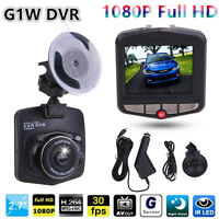 "2.4"" HD 1080P Car DVR Mini Camera Digital Video Recorder Rear View Night Vision"