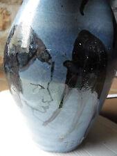 ancien vase en céramique signé