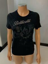 Botticelli Women's Limited Black T-shirt Top Size It46 Large L Uk 12