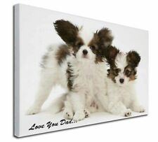 More details for papillon dogs 'love you dad' x-large 30
