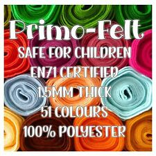 Polyester Felt - 51 colours, Soft, Strong, Smooth, Sheet, mini roll, metre