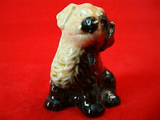Wade Whimsies Figurine-Red Rose Tea Puppy Dog in the Two Color Variety-Perfect