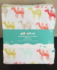 NEW PIllowfort Colorful Camels FULL/Double Bed Size Sheet Set Microfiber