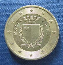 50 Cent Euro-Münze Malta Prägejahr 2013 aus Umlauf Sammlerstück