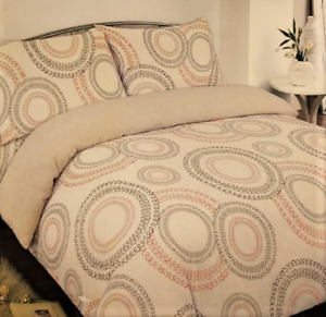 COLOROLL BEIGE SWIRL  KING SIZE DUVET COVER SET CLEARANCE OFFER FREE DELIVERY