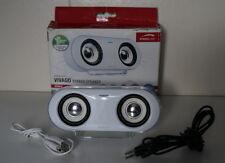 SPEEDLINK VIVAGO Stereo Speaker, Weiß SL-7901-SWT PC, MP3, Handy, lautsprecher