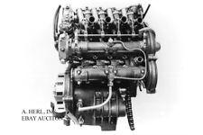 Moto Guzzi 500cc V8 engine design photograph drawing photo picture