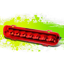 RED HOUSING LED 3RD THIRD STOP/BRAKE/BACKUP LIGHT LAMP FOR 09-11 FLEX V6 SUV