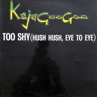 "Kajagoogoo ‎12"" Too Shy (Hush Hush, Eye To Eye) - France (VG+/EX)"