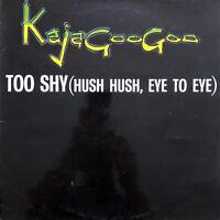 """Kajagoogoo 12"""" Too Shy (Hush Hush, Eye To Eye) - France (VG+/EX)"""