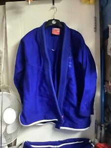 Tatami Bjj Gi A2 Competitor Series Batch #1 Blue Pre Owned  Good Condition