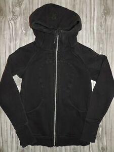 Lululemon Black Hooded Scuba Jacket Women's 6