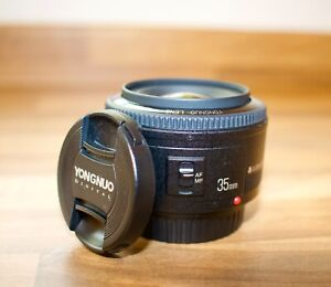 YONGNUO Yn35mm EF Fixed Prime Lens F2 AF MF Wide Angle for Canon EOS