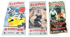"""Vintage Redman Malpractice Poster 14"""" x 7"""" Two Sided Hip Hop Rap Free Shipping"""